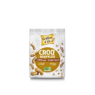 Croq' sésame toasté bio en sachet de 50 g 676265