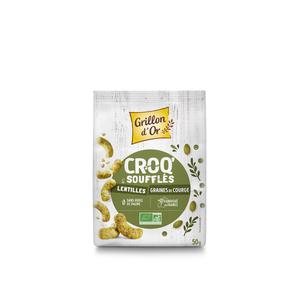 Croq' graine de courge bio en sachet de 50 g 676266