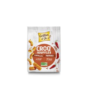 Croq' paprika bio en sachet de 50 g 676267