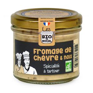 Tartinable au fromage de chèvre & noix en verrine de 90 g 676408