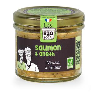 Mousse au saumon & aneth en verrine de 90 g 676410