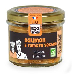 Mousse au saumon & tomates séchées en verrine de 90 g 676411