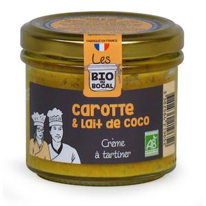 Crème de carotte & lait de coco en verrine de 100 g 676414