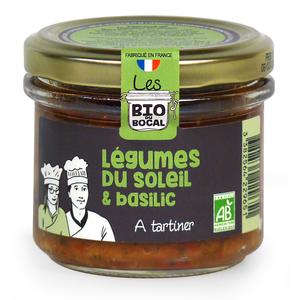 Crème aux légumes du soleil & basilic en verrine de 100 g 676416