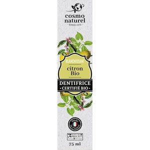 Dentifrice Blanchissant citron bio Tube 75 ml blanc 676673