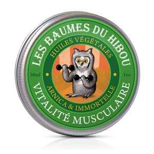 Baume Vitalité Musculaire biologique Boîte 30 ml vert 676697