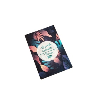Carte à planter botanic® - graines de basilic bio 677173