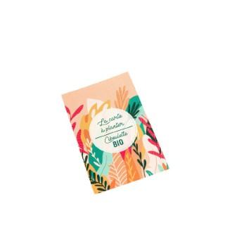 Carte à planter botanic® - graines de ciboulette bio 677174