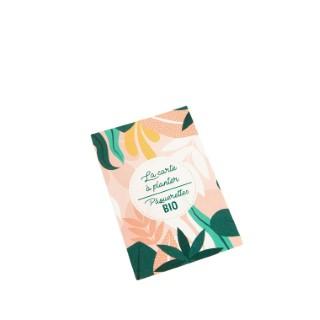 Carte à planter botanic® - graines de pâquerette bio 677175