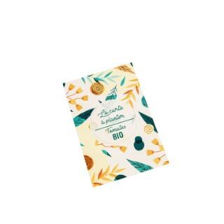 Carte à planter botanic® - graines de tomate cerise bio 677180