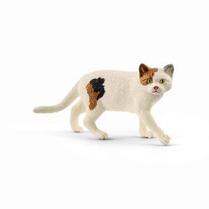 Figurine Chat American Shorthair plastique 7x2,5x3,5 cm 3-8 ans 677186