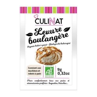 Levure boulangère Culinat sans gluten 3x9g 677271