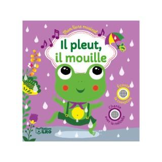 Mon livre musical – Il pleut, il mouille aux éditions Lito 677298