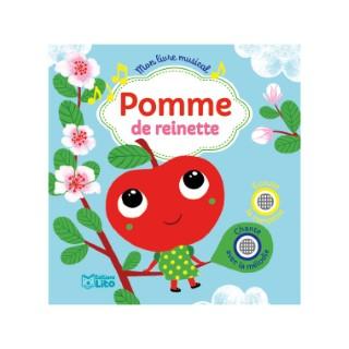 Mon livre musical – Pomme de reinette aux éditions Lito 677300