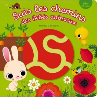 Suis les chemins des bébés animaux aux éditions Lito 677314
