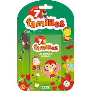 Jeu des 7 familles – Les animaux du jardin aux éditions Lito 677319