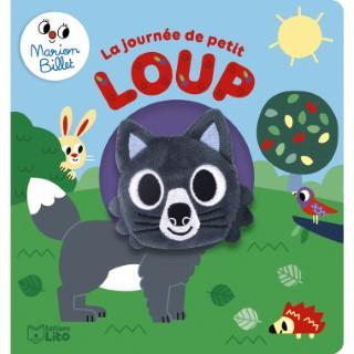 Livre marionnette – La journée de petit loup aux éditions Lito 677328
