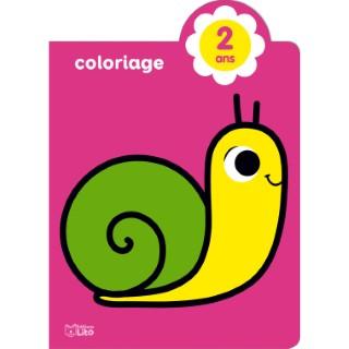 Mes tout premiers coloriages brillants – Joli escargot éditions Lito 677346