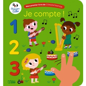 Mon premier livre de concentration – Je compte ! aux éditions Lito 677347