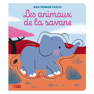 Mon premier puzzle – Les animaux de la savane aux éditions Lito 677354