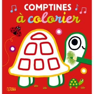 Mes comptines à colorier aux éditions Lito 677356