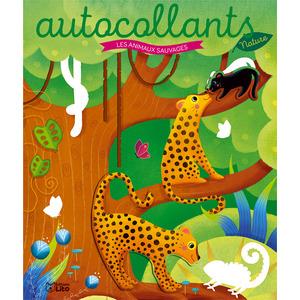 Les autocollants nature – Les animaux sauvages aux éditions Lito 677358