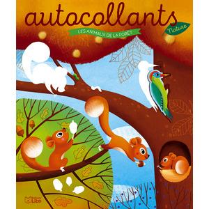 Les autocollants nature – Les animaux de la forêt aux éditions Lito 677360