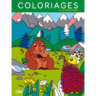 Mes grands coloriages – A la montagne aux éditions Lito 677361