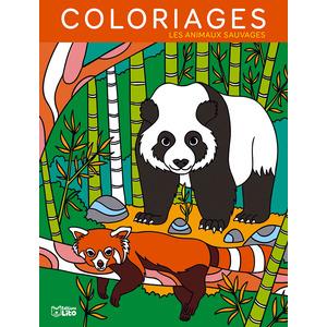 Mes grands coloriages – Les animaux sauvages aux éditions Lito 677362