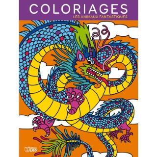 Mes grands coloriages – Les animaux fantastiques aux éditions Lito 677364