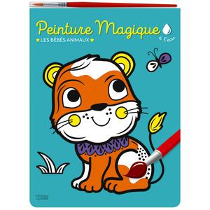 Peinture magique à l'eau – Les bébés animaux aux éditions Lito 677369