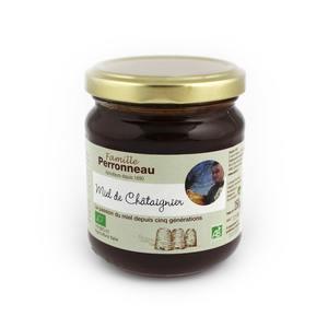 Miel de châtaignier de France Bio - bocal en verre de 250 g 677732