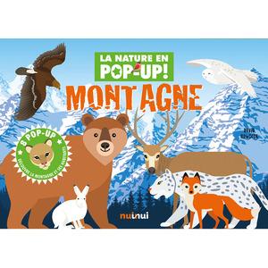 Montagne - la nature en pop-up aux éditions Auzou 677774