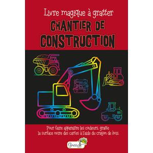 Chantier de construction – livre magique à gratter éditions Grenouille 677813