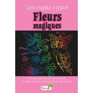 Fleurs magiques – livre magique à gratter aux éditions Grenouille 677815