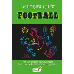 Football – livre magique à gratter aux éditions Grenouille 677816