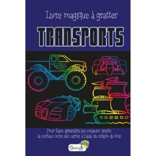 Transports – livre magique à gratter aux éditions Grenouille 677819