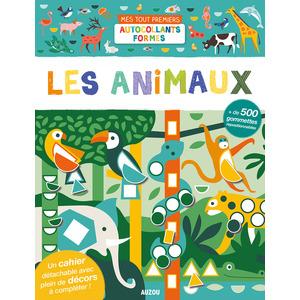 Les animaux - Mes premières gommettes aux éditions Auzou 677839