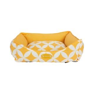 Corbeille pour chien Scruffs jaune 60x50 cm 677844
