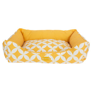 Corbeille pour chien Scruffs jaune 90x70 cm 677845