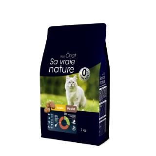 Croquettes Sa vaie nature chat stérilisé - lapin et poulet - 2 kg 678036