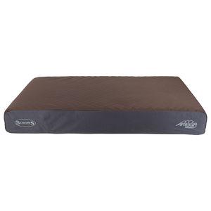 Coussin Scruffs Armourdillo marron taille XL 116x75x15 cm 678041