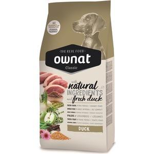 Croquettes pour chien adulte Ownat classic Duck au canard 4 kg 678609