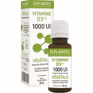 Vitamine D3 1000 Ul Végétale Pack 12 unités 20 ml blanc 679315