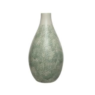 Vase terre cuite avec relief Ø21x40 cm 679365
