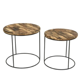 Table ronde acacia PM 679377
