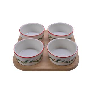 Set à tapas en bambou 679564