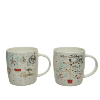 Mug en porcelaine 12 cm 679566