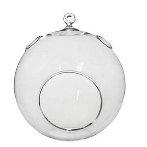 Sphère verre Ø14xH17,5 cm 680300
