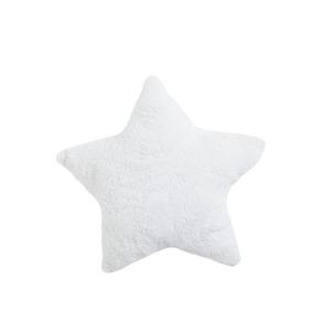 Coussin étoile blanc en matière synthétique Ø 45 cm 680414